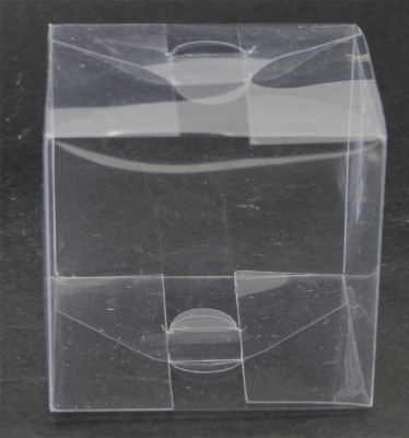 Diğer - 10lu Şeffaf Asetat Hediyelik Kutu 6x6x10cm