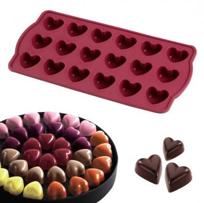 Joy Kitchen - 18li Silikon Kalp Çikolata ve Buz Kalıbı