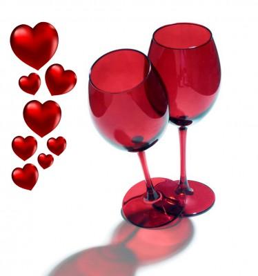 Joy Glass - 2li Paşabahçe Kırmızı Renk Şarap Kadehi