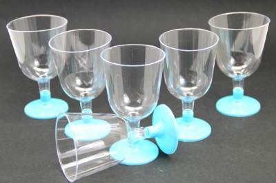Diğer - 6lı Lohusa Şerbet Bardağı Mavi