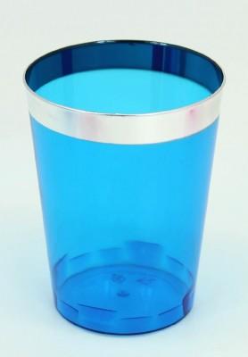 Diğer - 6lı Renkli Lohusa Şerbeti ve Meşrubat Bardağı Mavi