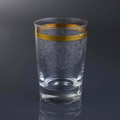Diğer - 6lı Rümeysa Altın Yaldızlı Su Bardağı