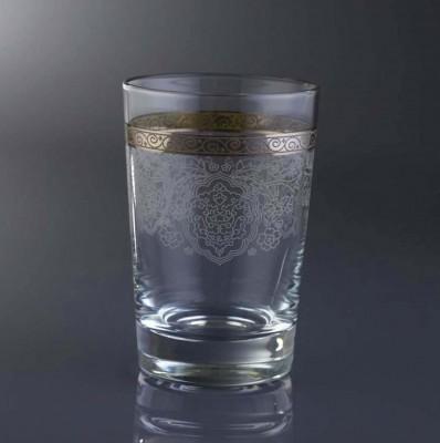 Diğer - 6lı Rümeysa Gümüş Yaldızlı Su Bardağı