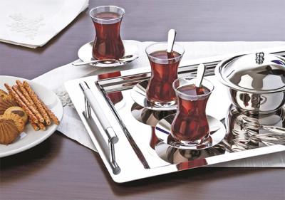 Şehzade - Abant 28 Parça Çay Seti Sade