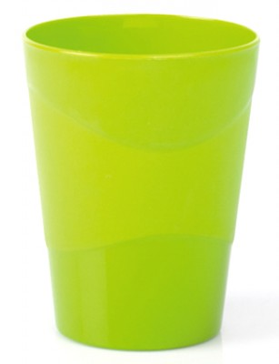 Aroni - Aroni Dalga Desenli Bardak Yeşil 300 ml