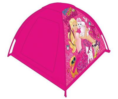 Diğer - Barbie Baskılı Oyun Çadırı Pembe 120x120x87cm