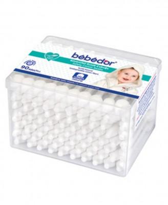 Bebedor - Bebedor Güvenlikli Kulak Temizleme Çubuğu 90 Adet
