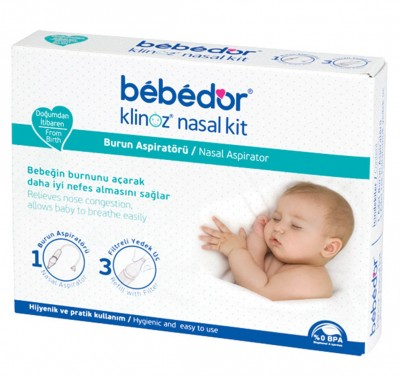 Bebedor - Bebedor Klinoz Nasal Temizleyici Burun Aspiratörü