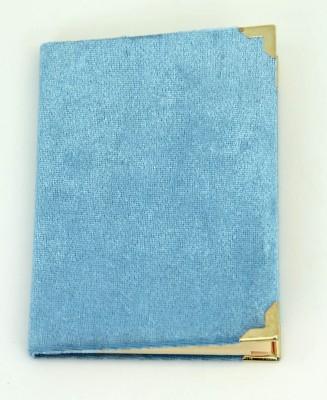 Diğer - Büyük Boy Kadife Kaplı Yasin Kitabı 12x16cm Mavi