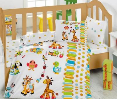 Cotton Box - Cotton Box Oyun Bahçesi Bebek Nevresim Takımı