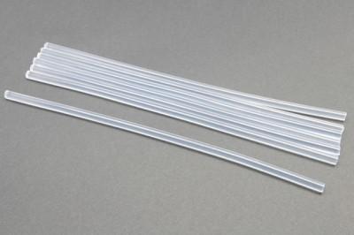 Diğer - Çubuk Mum Şeklinde Şeffaf Silikon 1 Adet 7 mm