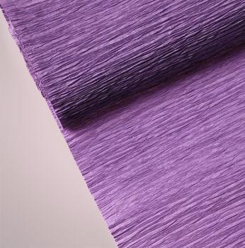 Düz Renk Desenli Krapon Hobi ve Süsleme Kağıdı 50x250cm Mürdüm