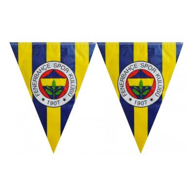 Diğer - Fenerbahçe Temalı Üçgen Flama Bayrak