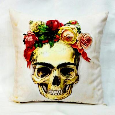 Diğer - Frida Kurukafa Dekoratif Kırlent Kılıfı 43cm