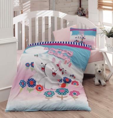 Diğer - Gökyüzü Elegant 3d Happy Baby Yazılı Bebek Uyku Seti