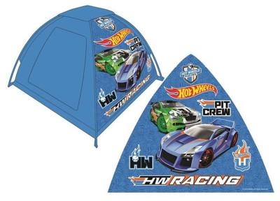 Diğer - Hot Wheels Araba Baskılı Oyun Çadırı Mavi 120x120x87cm