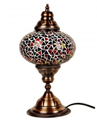 Diğer - İstanbul Düz Ayak Silindir Karışık Renkli Mozaik Lamba