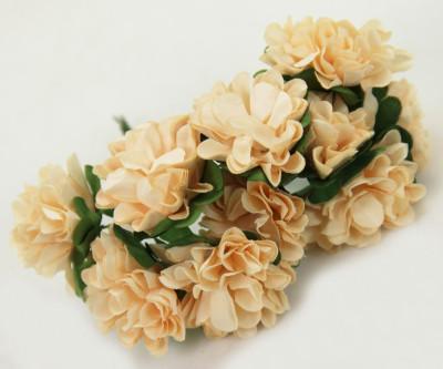Diğer - Kağıt Çiçek Bebek ve Nikah Hediyelik Şeker Süsü Pudra