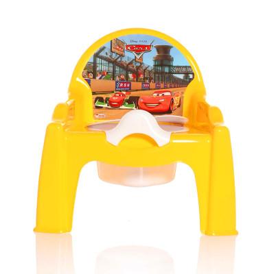 Karışık Renkli Disney Cars Baskılı Kapaklı Lazımlık - Thumbnail