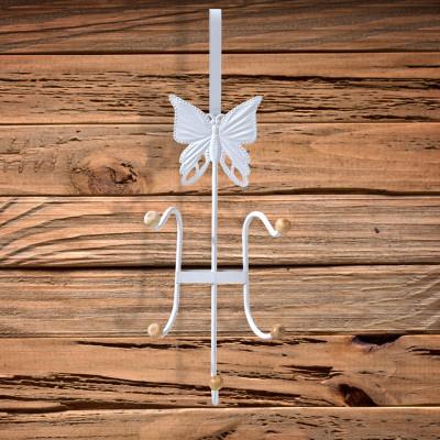 Diğer - Kelebek Figürlü 5 Bölmeli Kapı Askısı 35cm