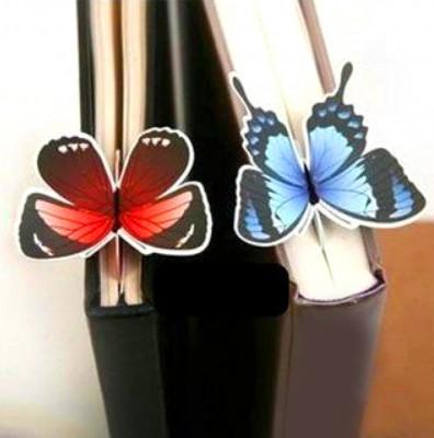 Diğer - Kelebek Tasarımlı Kitap Ayracı