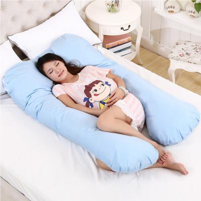 Diğer - Konforlu Bölge Destekli Hamile Uyku ve Emzirme Yastığı Mavi