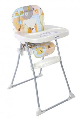Kraft - Kraft Attivo Ayıcıklı Mama Sandalyesi Turuncu