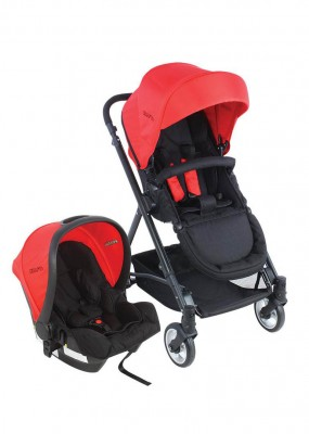 Kraft - Kraft Cruz Travel Sistem Bebek ArabasıKırmızı