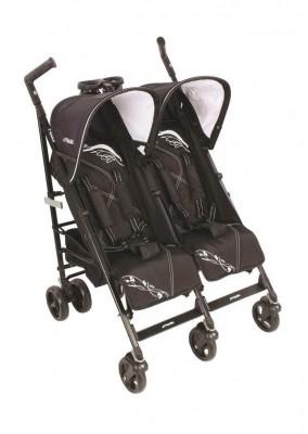 Kraft - Kraft Nitro İkiz Bebek Arabası Siyah