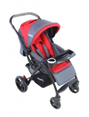 Kraft - Kraft Polar Çift Yönlü Bebek ArabasıKırmızı