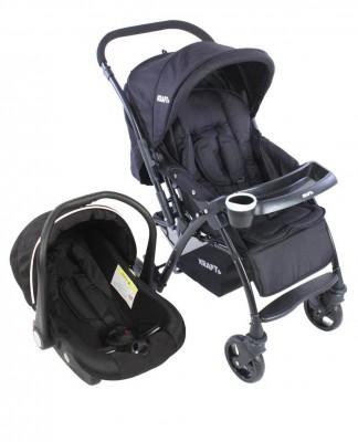 Kraft - Kraft Polar Travel Sistem Bebek Arabası Siyah