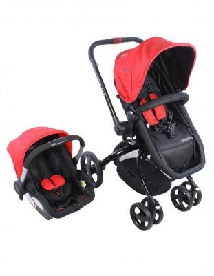 Kraft - Kraft Twist Deco Travel Sistem Bebek Arabası Kırmızı
