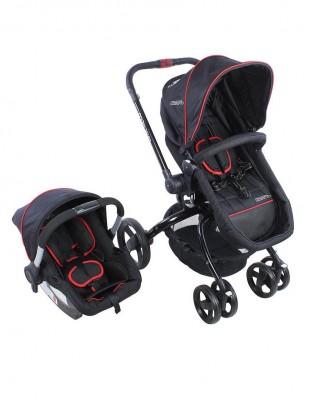 Kraft - Kraft Twist Deco Travel Sistem Bebek Arabası Siyah