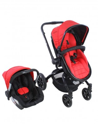 Kraft - Kraft Twist XX Travel Sistem Bebek ArabasıKırmızı