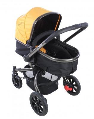 Kraft - Kraft Twist XX Travel Sistem Bebek ArabasıSarı