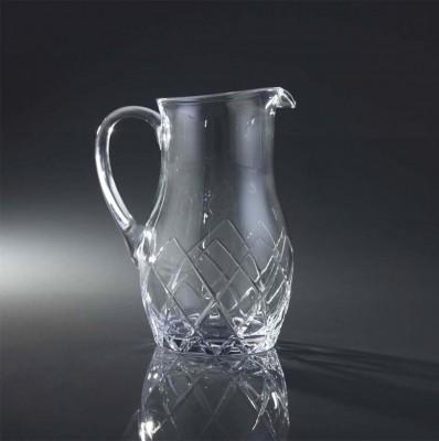 Diğer - Kristal Kesme Cam Sürahi 1500cc