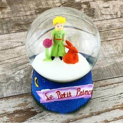 Diğer - Küçük Prens Figürlü Mini Kar Küresi 6cm