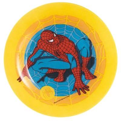 Luminarc - Luminarc Disney Spiderman Pasta Tabağı Sarı 19cm.