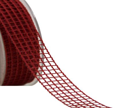 Diğer - Naturel Görünümlü File Kurdele Kırmızı 2cmx20mt