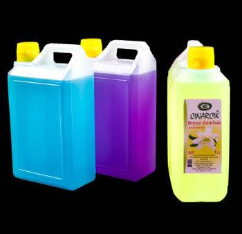 Nikah ve Bebek Şekeri İçin Beyaz Zambaklı Renkli Kolonya 1L Sarı