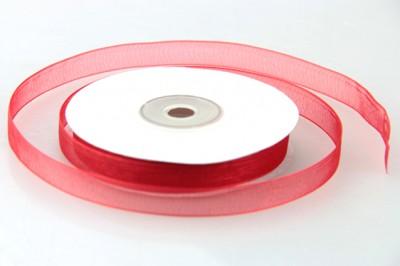 Diğer - Organze Kırmızı Kurdele 10mm.