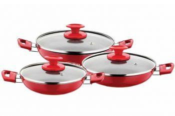 Mutfaklarınıza 214 Zel Rengarenk Tencere Tava Kazanabil Com
