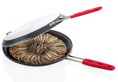 Papilla - Papilla Redio Balık ve Menemen Tavası Siyah 28cm
