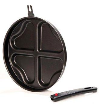 Papilla Redio Romantik Tava Siyah 24cm