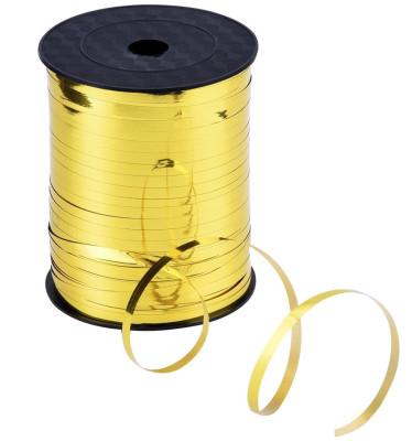 Diğer - Parlak Metalik Şerit Rafya 8mmx200mt Gold