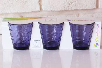 Paşabahçe 3lü Origami Meşrubat Bardağı Lila 245cc