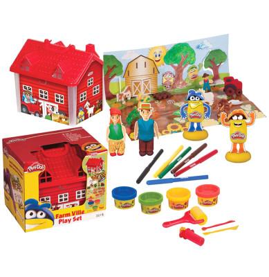 Play-Doh - Play-Doh Eğlenceli Çiftlik Oyun Hamuru Seti