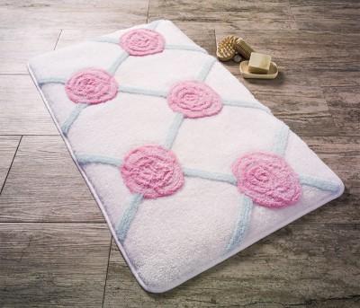Confetti - Pontus Banyo Halısı Karbeyaz 50x60cm
