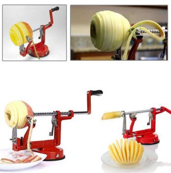 Pratik Meyve Soyma ve Dilimleme Makinesi