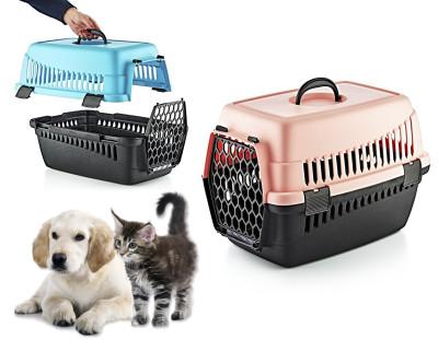 Diğer - Renkli Evcil Hayvan Taşıma Sepeti 61,5cm